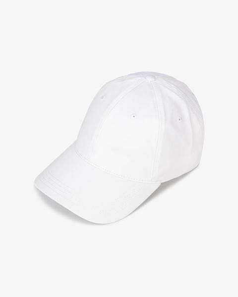 Biela čiapka Lacoste