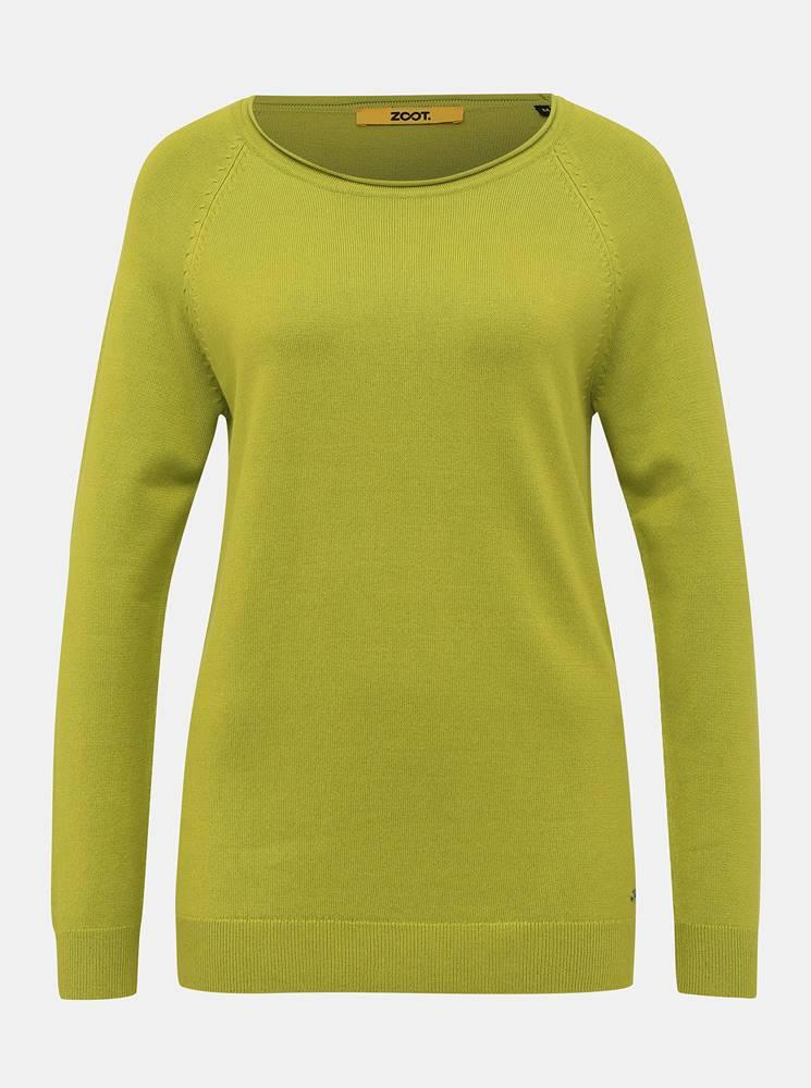 zoot baseline Zelený dámsky basic sveter ZOOT Baseline Ema