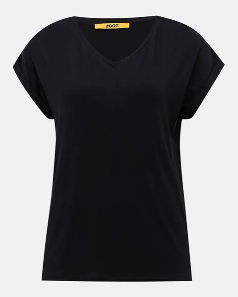 zoot baseline Čierne dámske basic tričko ZOOT Baseline Adriana