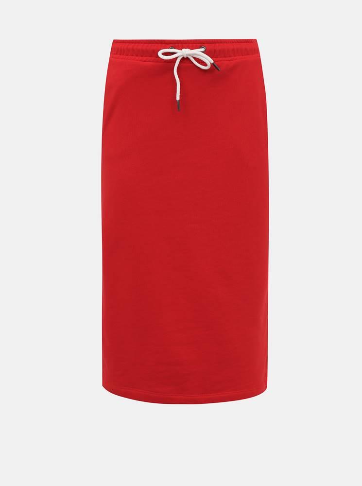 zoot baseline Červená basic sukňa ZOOT Baseline Vendelina