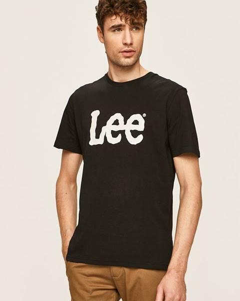 Čierne tričko Lee