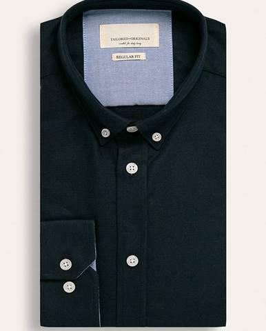 Tmavomodrá košeľa Tailored & Originals