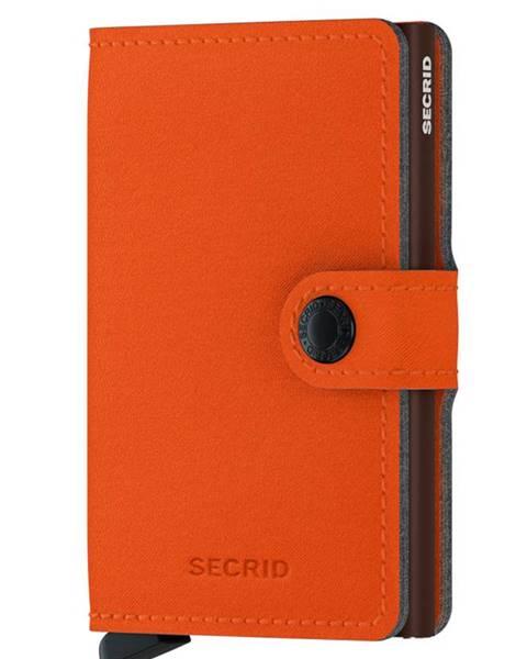 Oranžová peňaženka Secrid