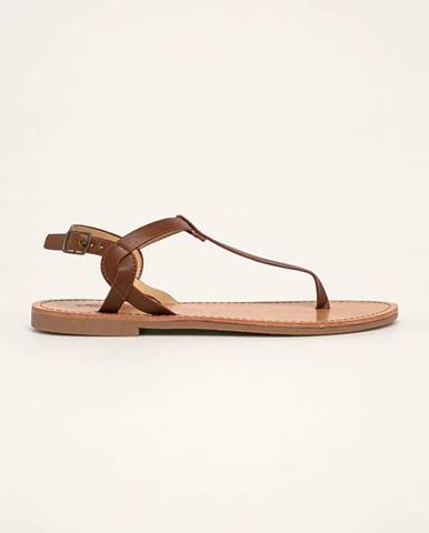 Hnedé sandále Truffle Collection