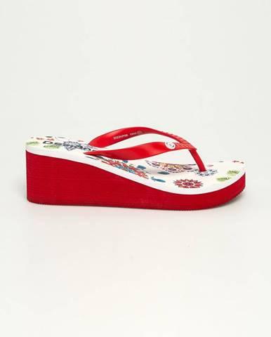 Biele sandále Desigual