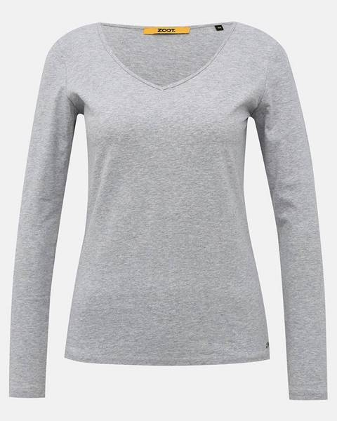Svetlosivé tričko zoot baseline