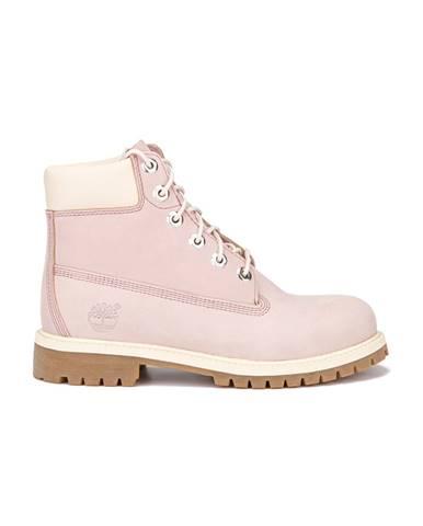 Ružové členková obuv Timberland
