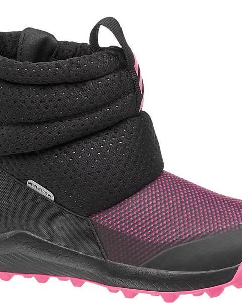 Ružové zimná obuv adidas