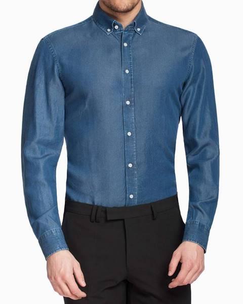 Modrá košeľa Pietro Filipi