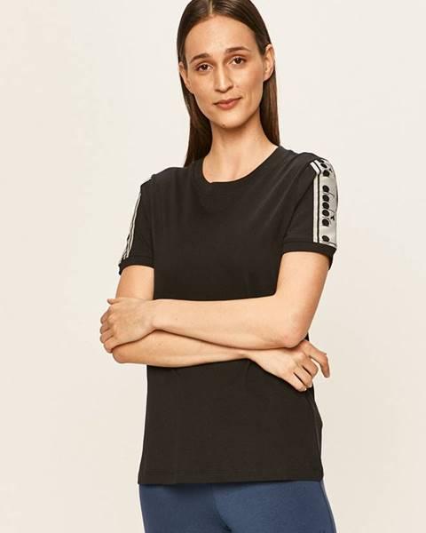Čierne tričko Diadora