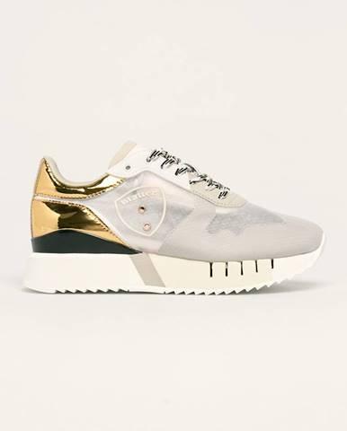 Sivé topánky Blauer