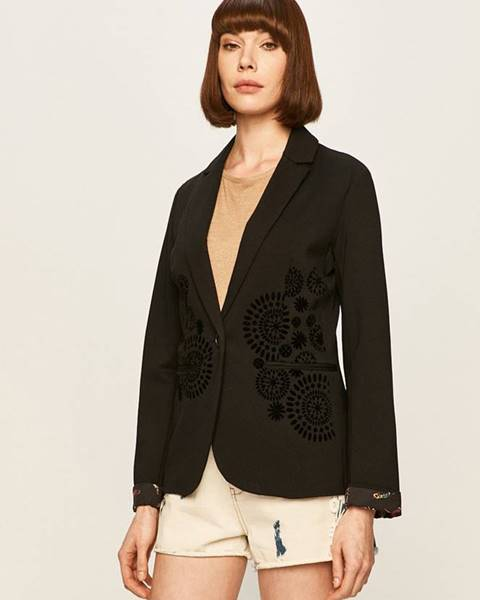 Čierne sako Desigual