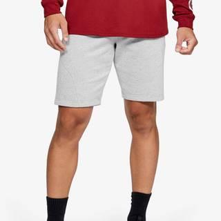 Kraťasy Under Armour Speckled Fleece Shorts Biela