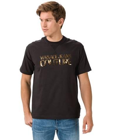Čierne tričko Versace Jeans Couture