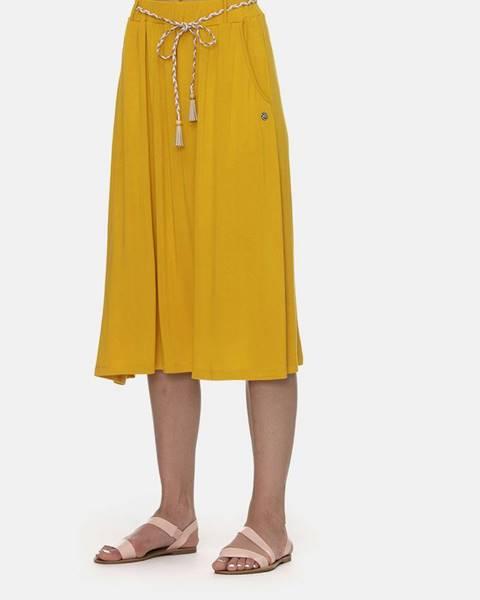 Horčicová sukňa Ragwear