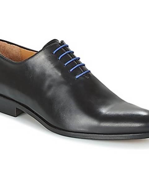 Čierne topánky Brett   Sons