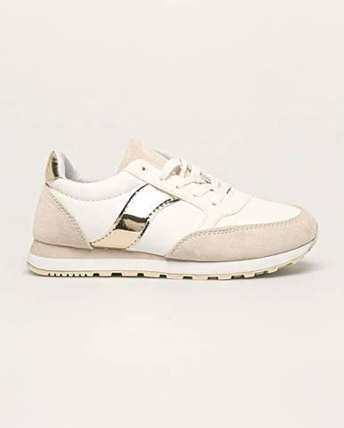 Béžové topánky Answear