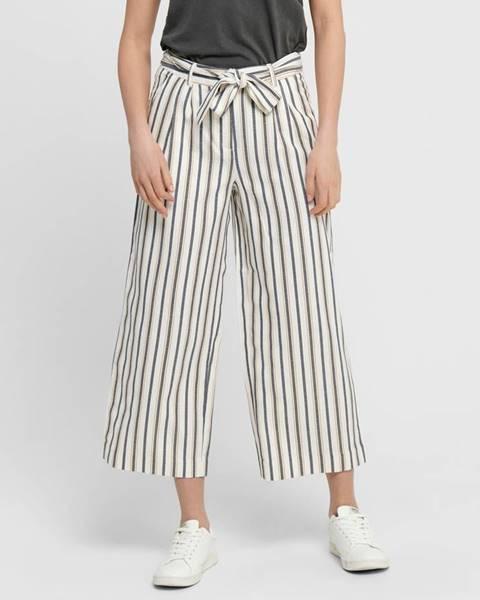 Krémové nohavice Only