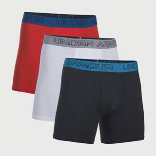 Boxerky Under Armour Charged Cotton 6Inch 3 Pack Farebná