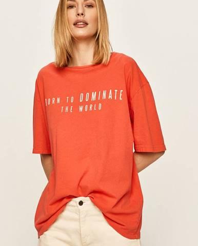 Červené tričko Answear