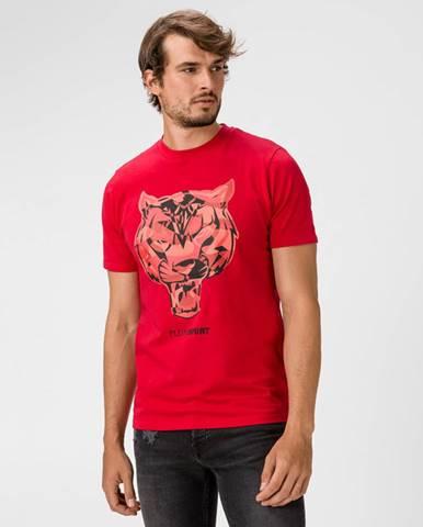 Červené tričko Philipp Plein Sport