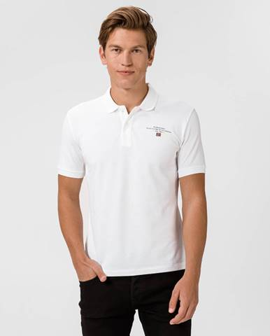 Biele tričko Napapijri