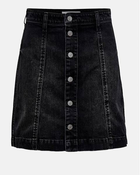 Čierna sukňa Jacqueline de Yong