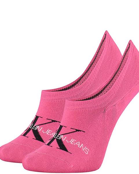 Ružové ponožky Calvin Klein