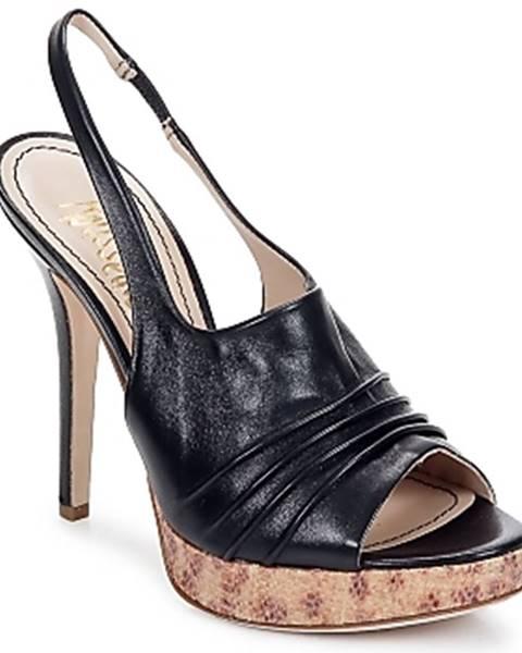 Čierne sandále Jerome C. Rousseau