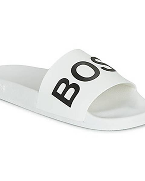 Biele sandále BOSS