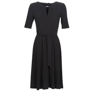 Krátke šaty Lauren Ralph Lauren  3/4 SLEEVE  JERSEY DAY DRESS