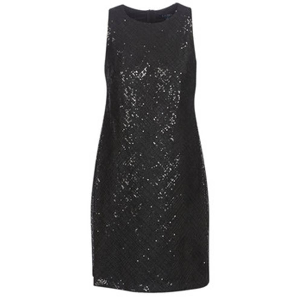 Lauren Ralph Lauren Krátke šaty Lauren Ralph Lauren  SEQUINED SLEEVELESS DRESS