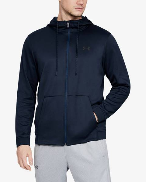 Modrá bunda s kapucňou Under Armour