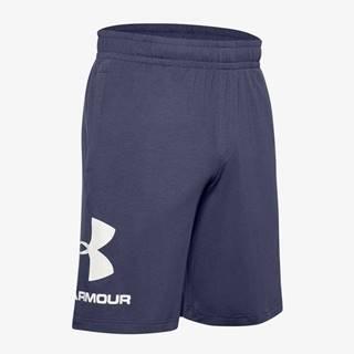 Kraťasy Under Armour Cotton Big Logo Shorts Modrá