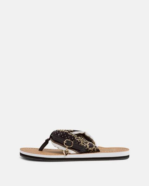 Tmavohnedé papuče Tamaris