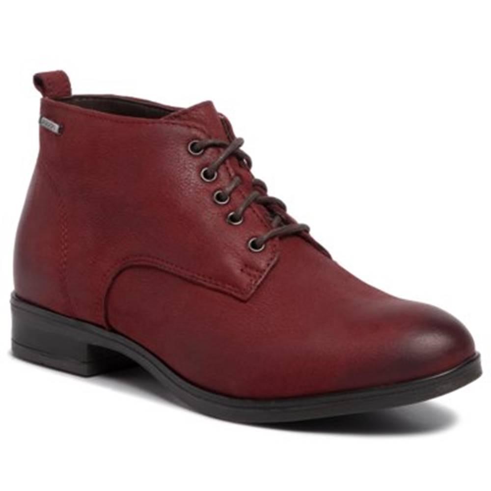 Lasocki Šnurovacia obuv Lasocki OCE-NUMANA-01 nubuk,koža(useň) lícová