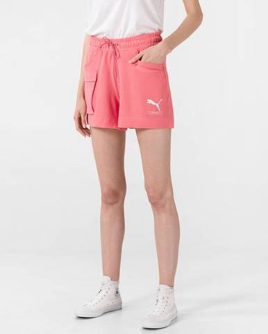 Ružové šortky Puma