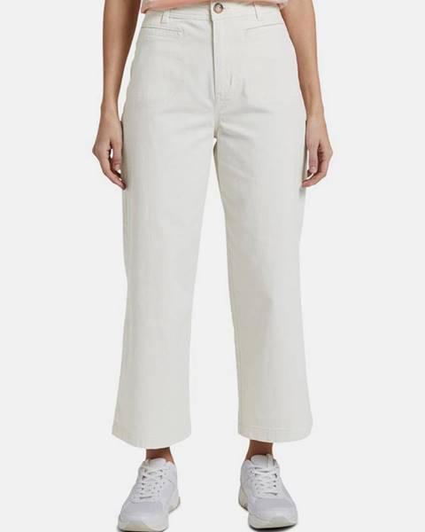 Krémové nohavice Tom Tailor Denim