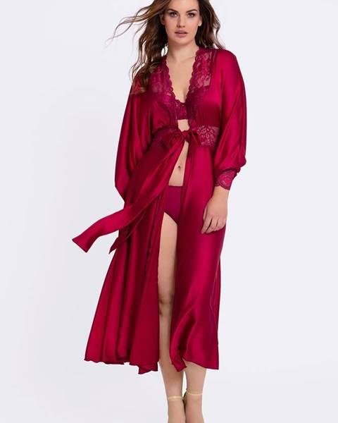 Červený župan LAUMA lingerie