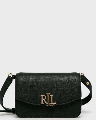 Čierna kabelka Lauren Ralph Lauren