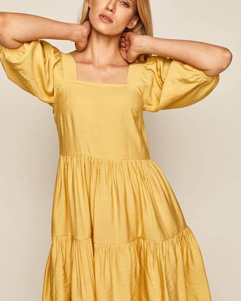 Žlté šaty MEDICINE