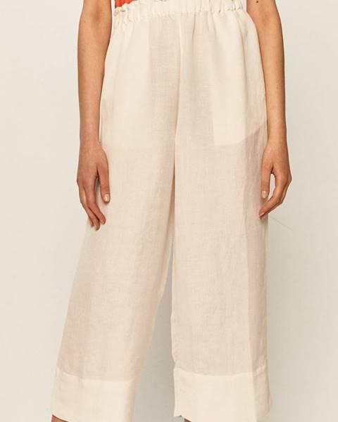 Biele nohavice Brixton