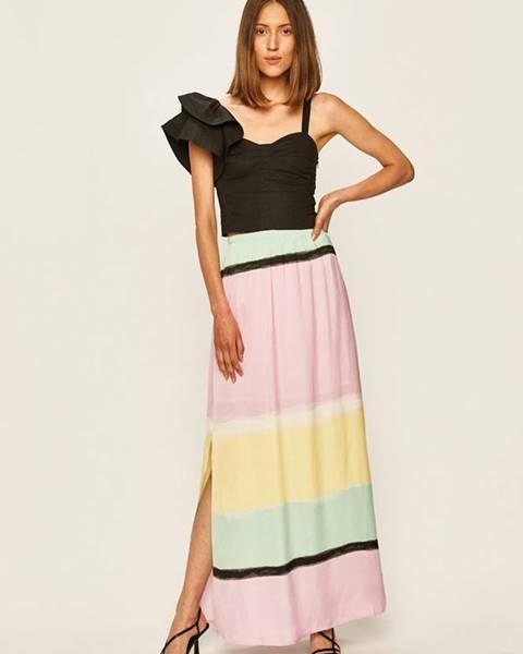 Viacfarebná sukňa Pepe jeans