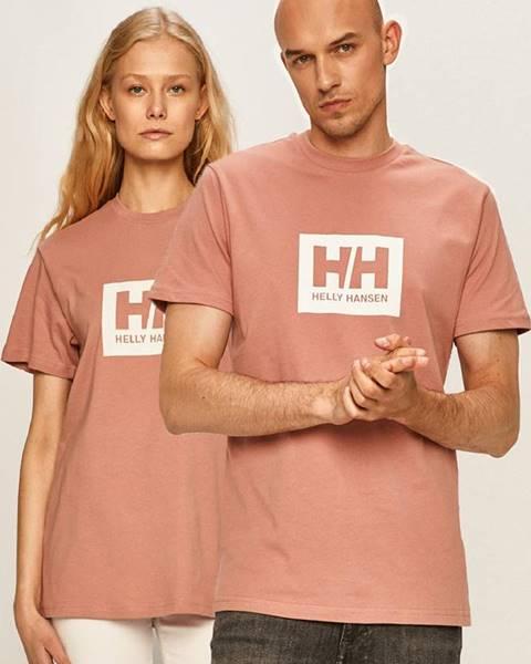 Ružové tričko Helly Hansen