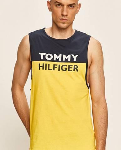 Žlté tričko Tommy Hilfiger