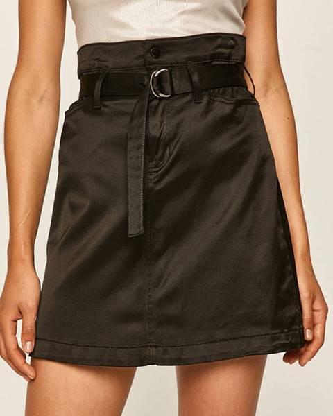 Čierna sukňa Guess Jeans
