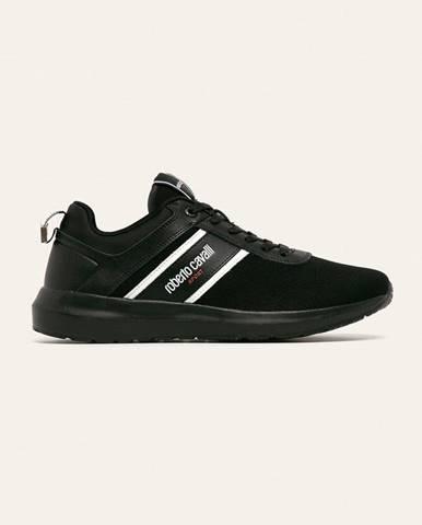 Čierne topánky Roberto Cavalli Sport
