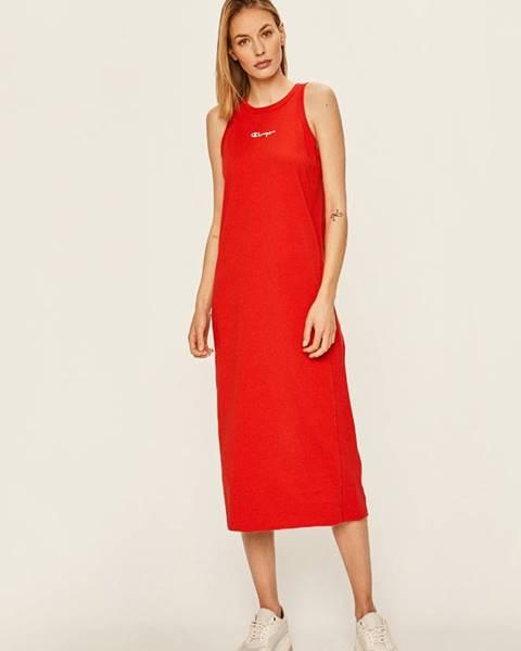 Červené šaty Champion