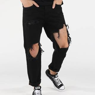 Diesel Mharky Jeans Čierna