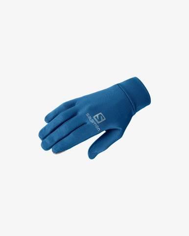 Modré rukavice Salomon